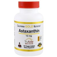 California Gold Nutrition, Astaxanthin, Triple-Strength, Natural, U.S. Sourced & Made, No