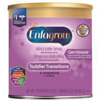 Enfagrow, Toddler Transitions Powder (9~18 Months) - 20 Ounce Can