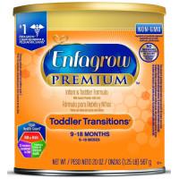 Enfagrow, PREMIUM Toddler Transitions Formula Powder (9~18 Months) - 20 Ounce Can