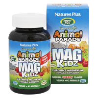 Nature's Plus, Animal Parade, MagKidz, Children's Magnesium, Natural Cherry Flavor - 90 An