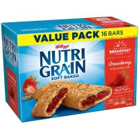 Kellogg's, Nutri-Grain Bars Strawberry, 16 bars - 20.8 oz (592 g)