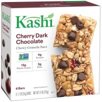 Kashi, TLC Chewy Cherry Dark Chocolate Granola Bars, 6 Bars - 7.4 oz (210 g)