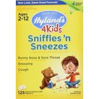 Hyland's, 4 Kids, Sniffles 'n Sneezes - 125 Quick-Dissolving Tablets
