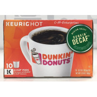 Dunkin' Donuts, Original Blend, Decaf Coffee K-Cup Pods, for Keurig Brewers, 10 Count - 3.
