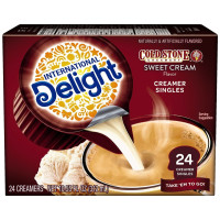 International Delight, Cold Stone Sweet Cream, Coffee Creamer Single-Serve, 24 count  - 10