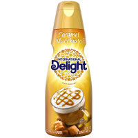 International Delight, Caramel Macchiato Coffee Creamer, Non-Dairy Quart - 32 oz (946 ml)