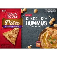 Keebler, Town House, Pita Mediterranean Crakers and Hummus Snack Box - 2.75 oz (78 g)