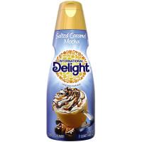 International Delight, Salted Caramel Mocha Coffee Creamer, Quart - 32 oz (946 ml)