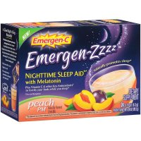 Emergen-C, Emergen-Zzzz, Nighttime Sleep Aid, Peach, 24 Ct - 6.96 oz (199.2 g)  *Select Fl