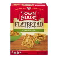 Keebler, Town House, Flatbread Crisps Italian Herb Crackers - 9.5 oz (269 g)