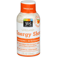 365 Everyday Value, Liquid Energy Shot, Mandarin Orange - 2 fl oz (59 g)