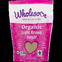 Wholesome, Organic Light Brown Sugar - 24 oz (681 g)