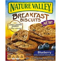 Nature Valley, Breakfast Biscuit, 5 Pouches of 4 Biscuits - 1.77 oz (50 g) each  *Select F