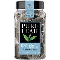 Pure Leaf,  Iced Tea Bags, Classic Black Tea 16 Count - 1.5 oz (43.2 g)