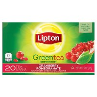 Lipton, Green Tea Bags, Cranberry Pomegranate 20 Bags - 15 oz (42 g)