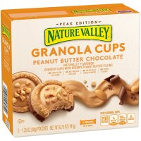 Nature Valley, Peak Edition Granola Cups, 5 Pouches - 1.35 oz (38 g) each  *Select Flavor