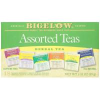 Bigelow, Assorted Herb Teas, Six Variety Pack, Caffeine Free, 18 Tea Bags - 1.03 oz (29 g)