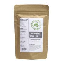 Beach House Teas, Organic Loose Leaf Green Tea - Blueberry Beach Breeze - 2 oz (56.7 g)