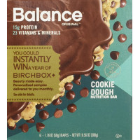 Balance Bar, Cookie Dough, 6 Count (Pack of 3) - 1.76 oz (50 g)