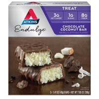 Atkins, Endulge, Chocolate Coconut Bar, 5 Bars - 1.2 oz (34 g) each
