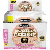 MuscleTech, Soft Baked Whey Protein Cookie,  Gluten-Free, 6 Count - 3.25 oz (92 g) each  *