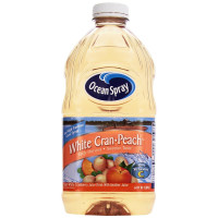 Ocean Spray, Juice Drink, White Cranberry Peach - 64 oz (1.89 Liter)