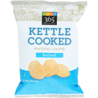 365 Everyday Value, Kettle Cooked Potato Chips, Salted - 5 oz (142 g)