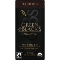 Green & Black's, Organic Chocolate Bar, Dark 85% Cacao - 3.5 oz (100 g)