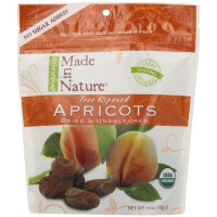 Made In Nature, Organic Dried Apricots - 6 oz (170 g) x 3 Packs