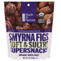 Made In Nature, Organic Smyrna Figs - 7 oz (198 g) x 3 Packs