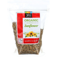 365 Everyday Value, Organic Sunflower Kernels Roasted & Salted - 12 oz (340 g) x 4 Packs