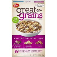 Post Great Grains, Raisins Dates & Pecans Whole Grain Cereal - 16 oz (453 g)