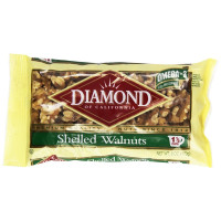 Diamond, Shelled Walnuts - 6 oz (170 g) x 3 Packs