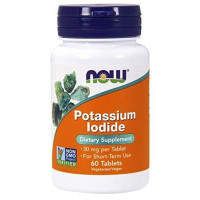 Now Foods, Potassium Iodide, 30 mg - 60 Tablets