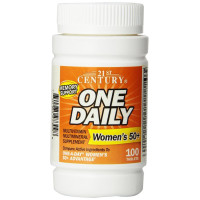 21st Century, One Daily, Woman's 50+, Multivitamin Multimineral - 100 Tablets