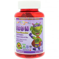 Vitamin Friends, Iron Vegan Gummies, Strawberr - 60 Pectin Gummies