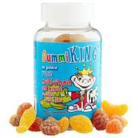 GummiKing, Multi-Vitamin and Mineral, Vegetables, Fruits and Fiber, For Kids - 60 Gummies