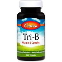 Carlson Labs, Tri-B, Vitamin  B Complex - 360 Tablets