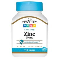 21st Century, Zinc, 50 mg - 110 Tablets