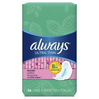 Always, Ultra Thin Regular Pads With Wings - 36 Count