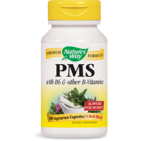 Nature's Way, PMS, With B6 and Other B-Vitamins - 100 Vegetarian Capsules