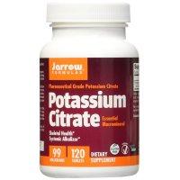 Jarrow Formulas, Potassium Citrate, Skeletal Health, 99 mg - 120 Tablets