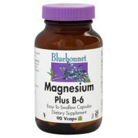 Bluebonnet Nutrition, Magnesium Plus B6 - 90 Vcaps