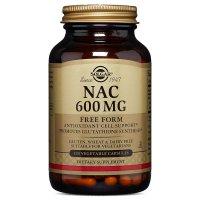 Solgar, NAC, 600 mg - 120 Vegetable Capsules