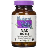 Bluebonnet Nutrition, NAC, 500 mg - 90 Vcaps