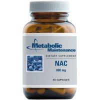 Metabolic Maintenance, NAC, 600 mg - 60 Capsules