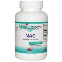 Nutricology, NAC, N-Acetyl-L-Cysteine - 120 Tablets