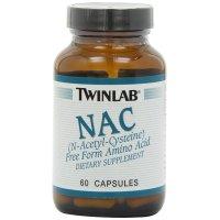 Twinlab, NAC, (N-Acetyl-Cysteine) - 60 Capsules