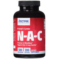 Jarrow Formulas, N-A-C, N-Acetyl-L-Cysteine, 500 mg - 200 Capsules