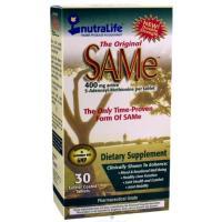 NutraLife, The Original SAMe (S-Adenosyl-L-Methionine), 400 mg, 30 Enteric Coated Tablets